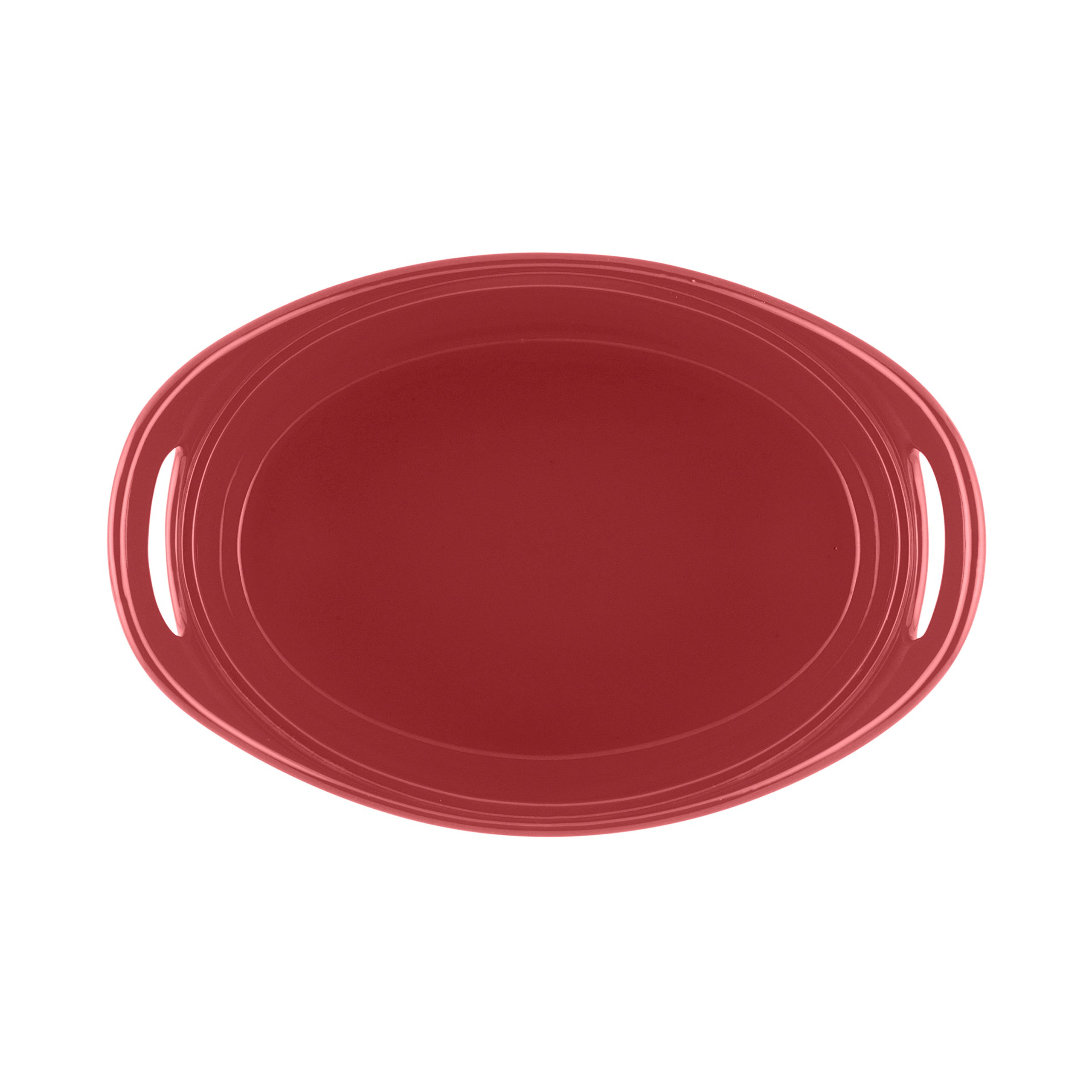 Rachael Ray Stoneware 3-Piece Serving Salad Set, Red by Rachael Ray (Image #3)