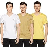 Amazon Brand - Symbol Men's Regular Fit T-Shirt (Combo Pack of 3)