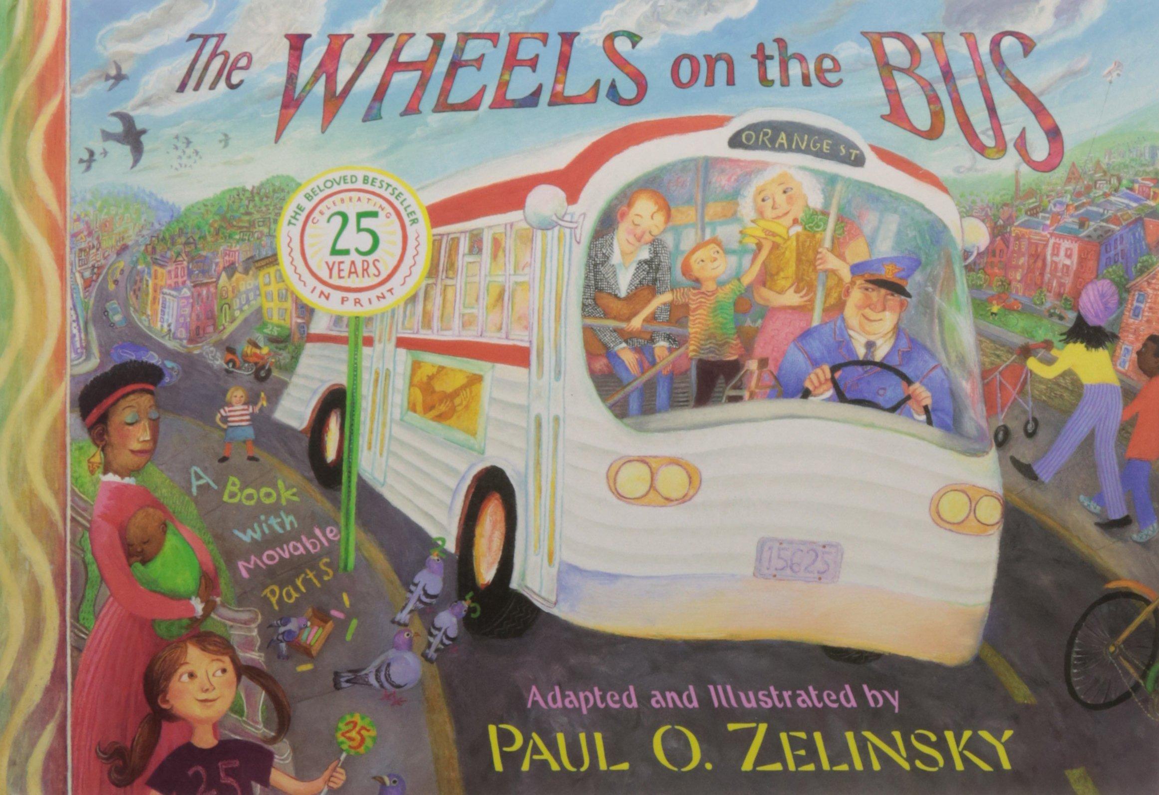 Wheels Bus Paul O Zelinsky product image