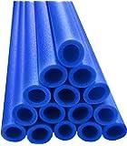 Upper Bounce Trampoline Pole Foam Sleeves (Set of 16, Blue)
