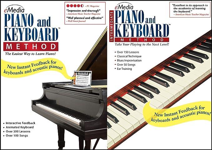 Amazon com: eMedia Piano and Keyboard Method Deluxe v3 [PC