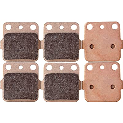 ECCPP FA84 Brake Pads Front and Rear Sintered Replacement Brake Pads Kits Fit for 1983-2012 Honda,1987-2012 Kawasaki,1987-1993 Suzuki,1987-2012 Yamaha: Automotive