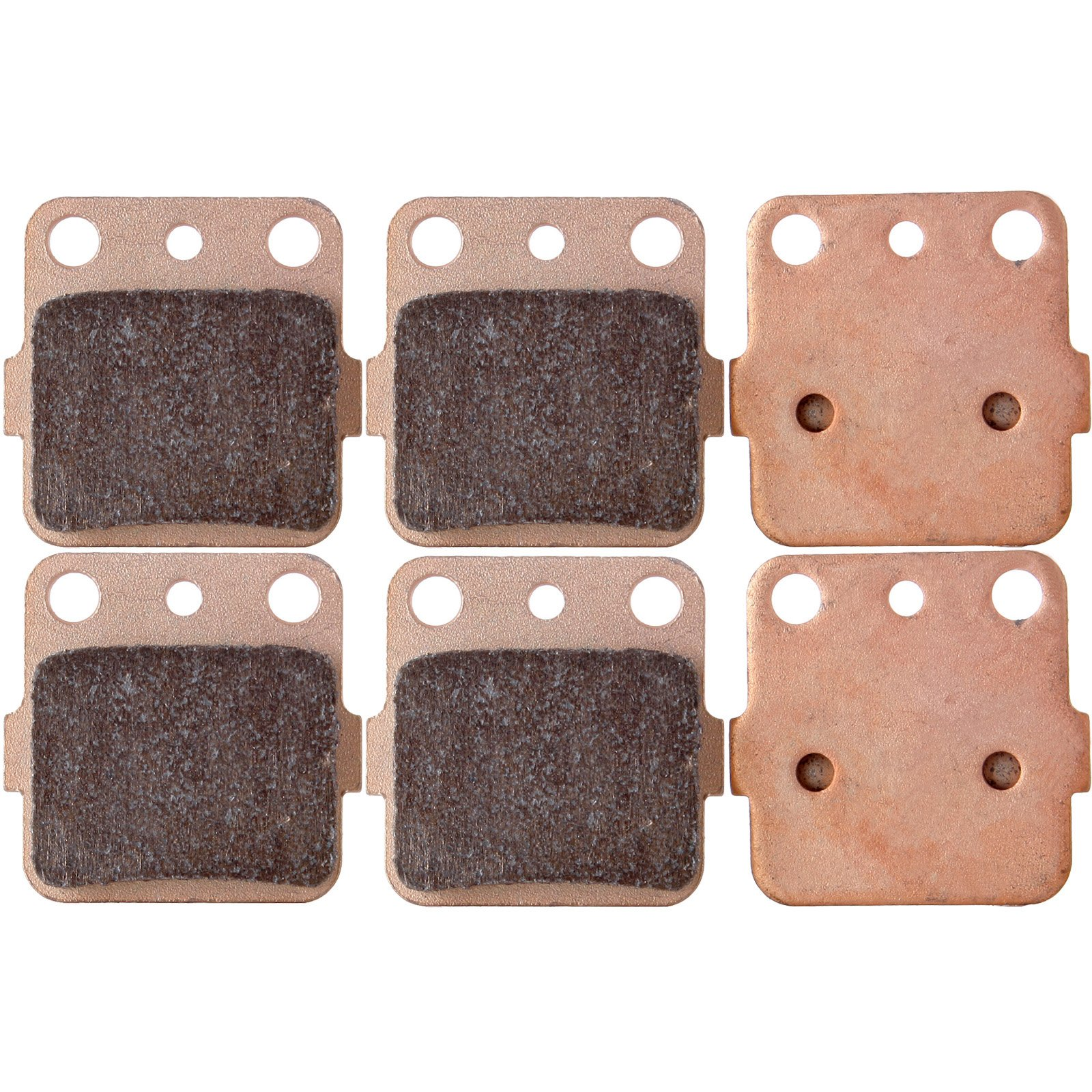 ECCPP FA84 Brake Pads Front and Rear Sintered Replacement Brake Pads Kits Fit for 1983-2012 Honda,1987-2012 Kawasaki,1987-1993 Suzuki,1987-2012 Yamaha by ECCPP