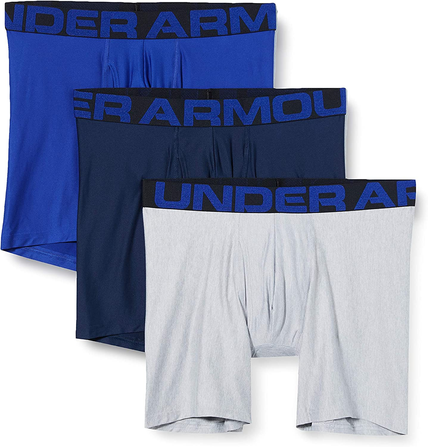 Under Armour Tech 6in 3 Pack Ropa Interior Hombre