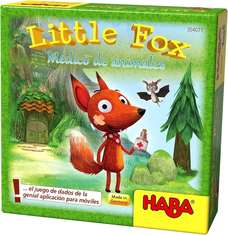HABA- Juego de Mesa, Little Fox - Médico de Animales, Multicolor ...