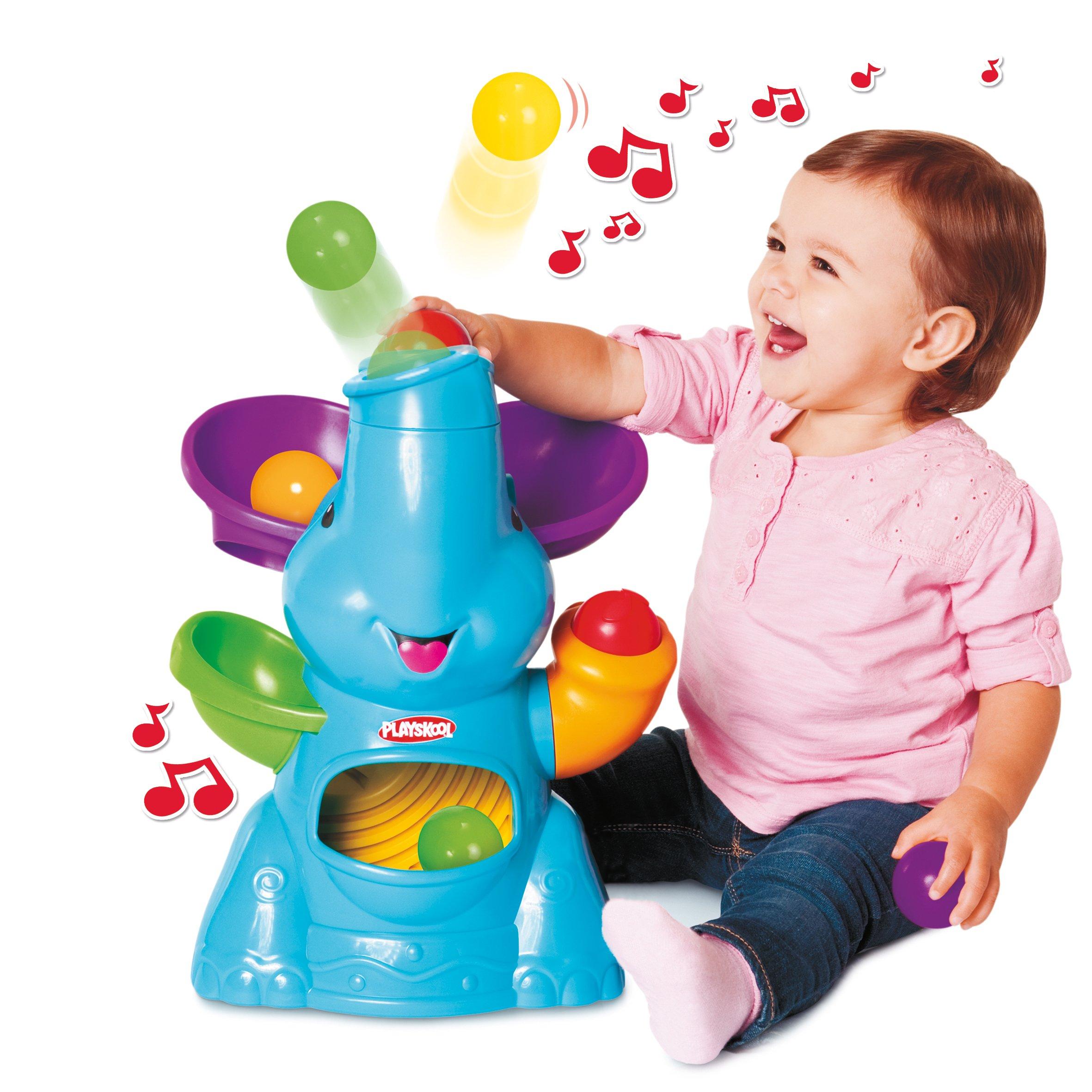 Playskool Poppin' Park Elefun Busy Ball Popper.