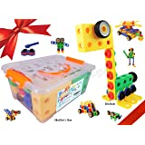 KoolToys | STEM Learning | Original 99 Piece Educational Construction Engineering Building Blocks Set for 3, 4 and 5+ Year Old Boys & Girls | Creative Fun Kit | Best Toy Gift for Kids Ages 3yr – 6yr