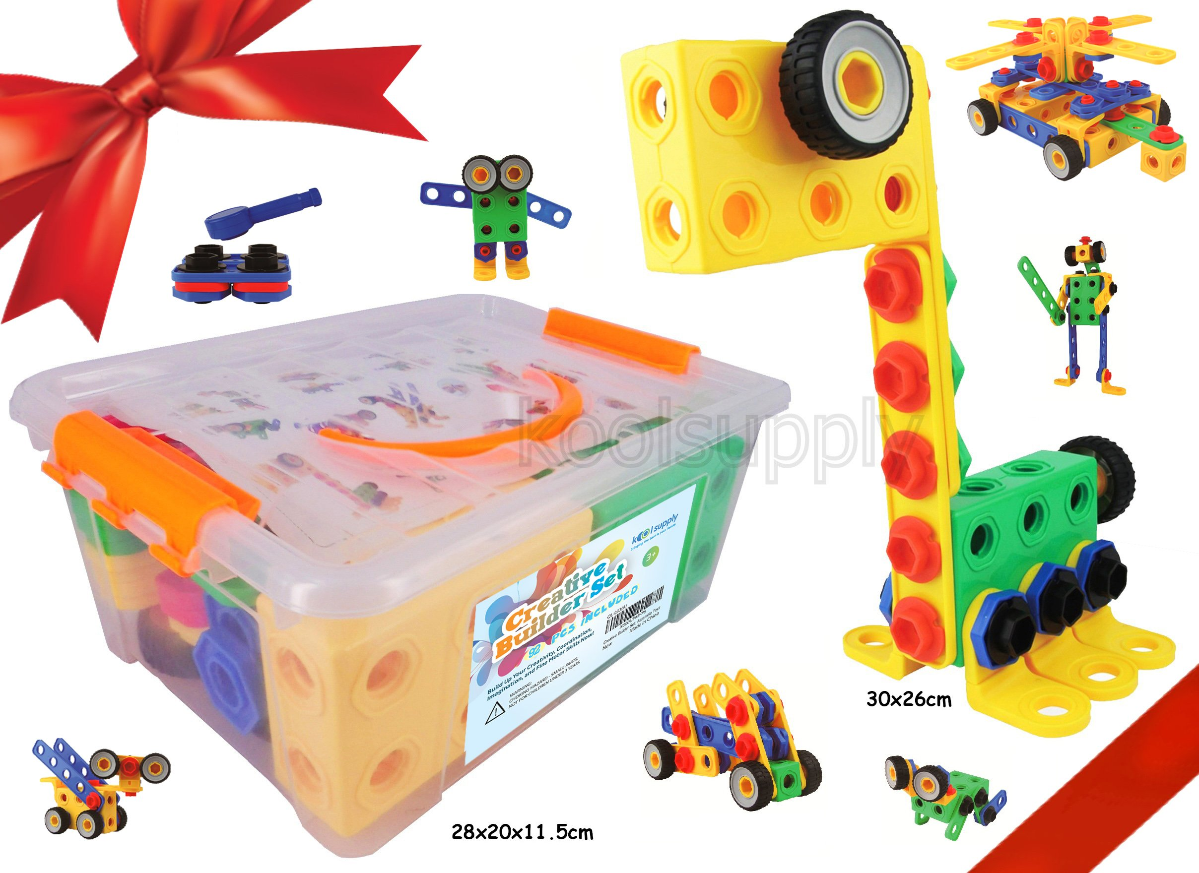 Creativity Toys For Boys : Creative builder set original pieces stem building