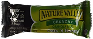 Nature Valley Crunchy Granola Bars Oats 'N Honey 15 Two Bar Pouches (30 Bars) - 1.5 Oz. Each - Small Storage Space Friendly