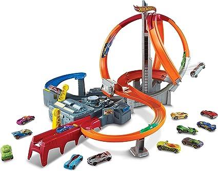 Hot Wheels - Pista Torbellino de Carreras (Mattel CDL45)