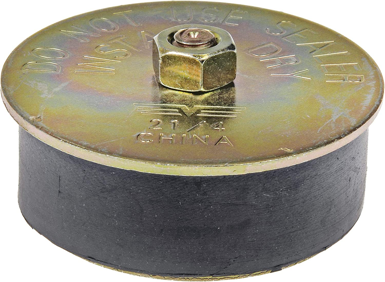 - 2-1//8 In. Dorman Autograde 570-014.1 Rubber Expansion Plug 2 In - Size Range 2 In