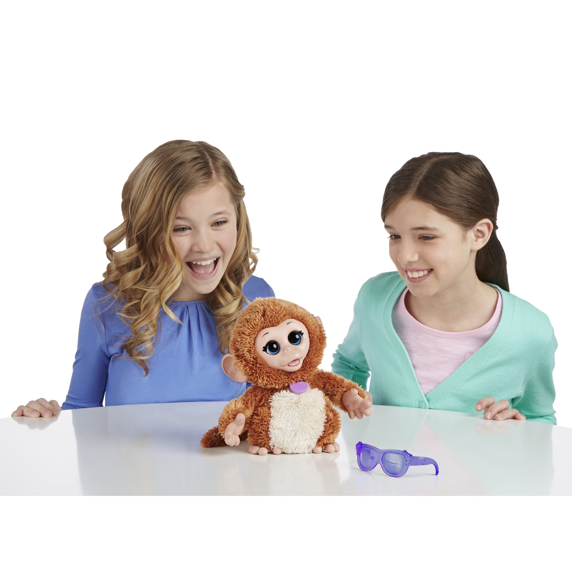 FurReal Friends Baby Cuddles My Giggly Monkey Pet Plush by FurReal (Image #3)