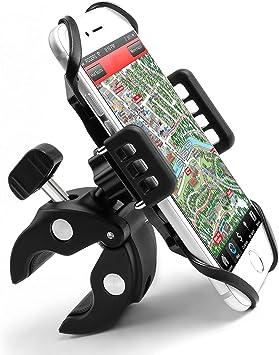 Mycarbon Handyhalterung Fahrrad Univesal Handyhalterung Motorrad Mit 360 Drehbar Handyhalter Für Iphone X 8 Samsung Huawei 6 Zoll Smartphone Und Geräten Auto