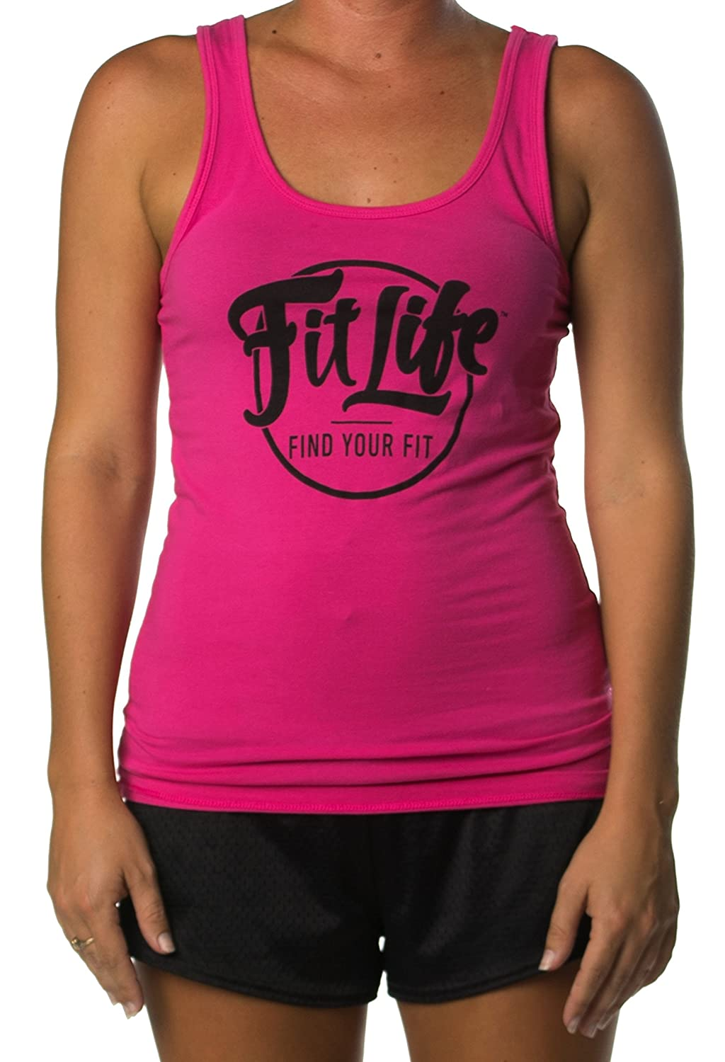 Fit Life Active Raspberry Jersey Tank