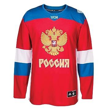 los angeles 24ff6 cb06f Amazon.com : adidas Team Russia 2016 World Cup of Hockey ...