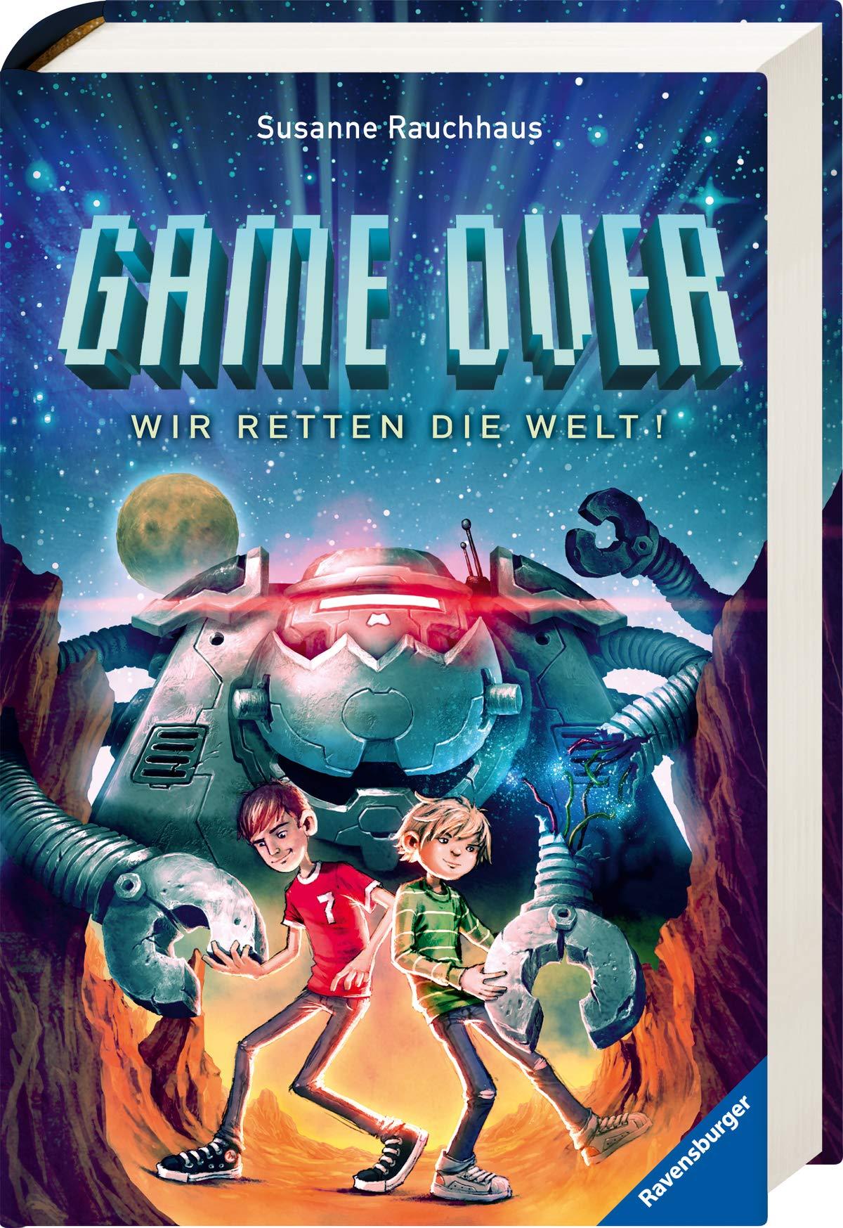 Game Over Wir Retten Die Welt Amazon De Rauchhaus Susanne Vogt Helge Bucher