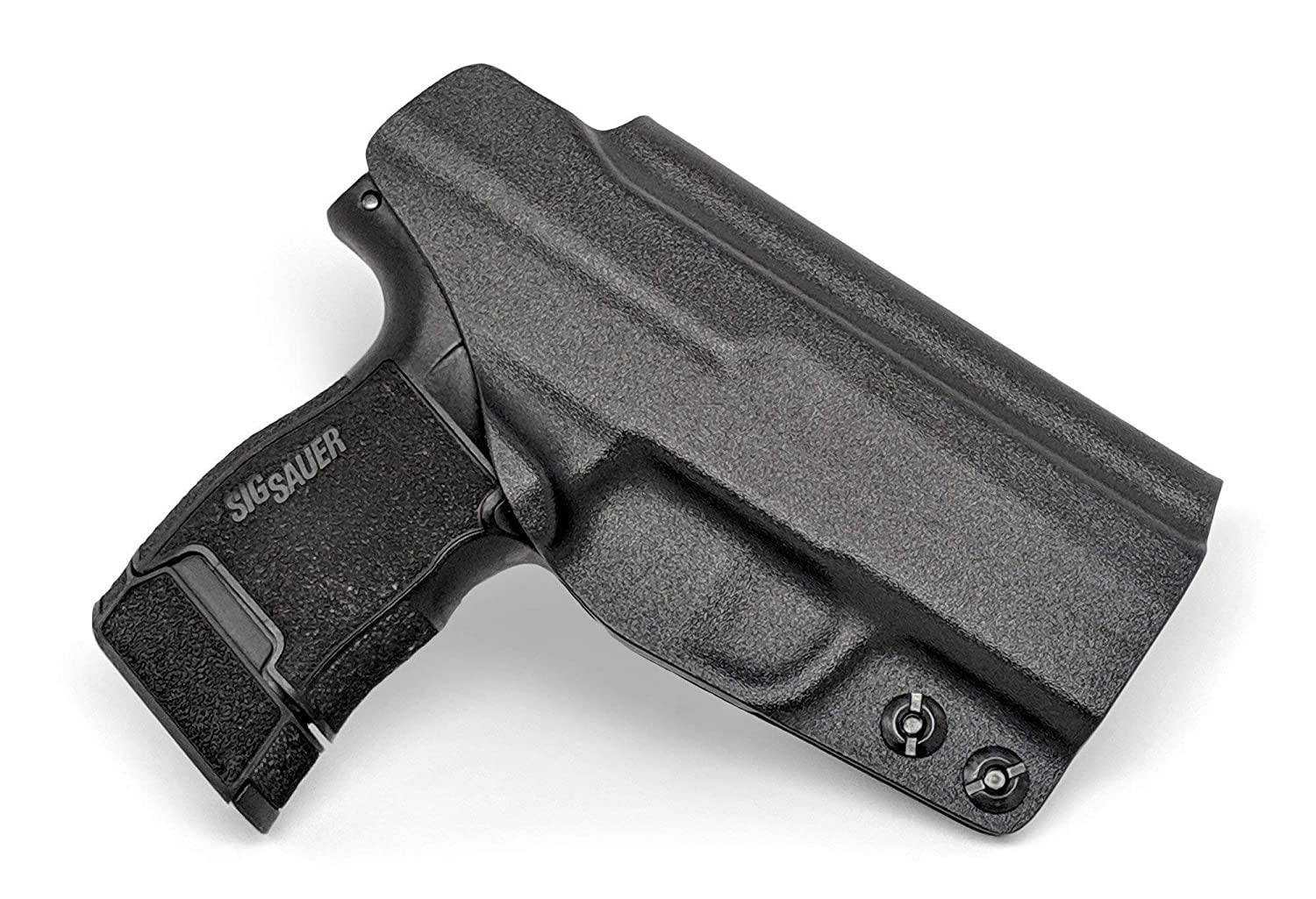 Concealment Express IWB KYDEX Holster: fits Sig Sauer P365 (CF BLK, RH) -  Inside Waistband Concealed Carry - Adj  Cant/Retention - US Made