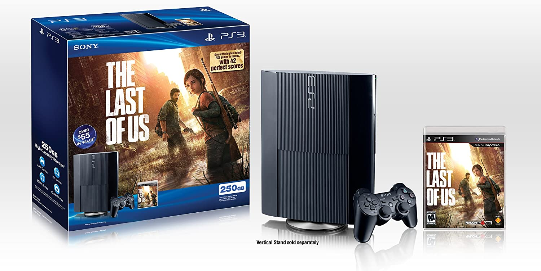 PS3 250GB The Last of Us Bundle