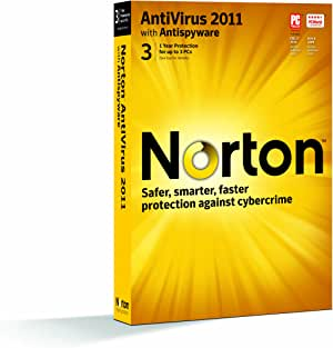 Symantec Norton Antivirus 2011 - 1 User/3 Pc [Old Version]