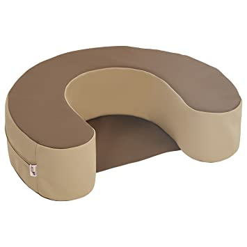 ECR4Kids SoftZone Sit and Support Ring Baby Floor Seat, Chocolate ...