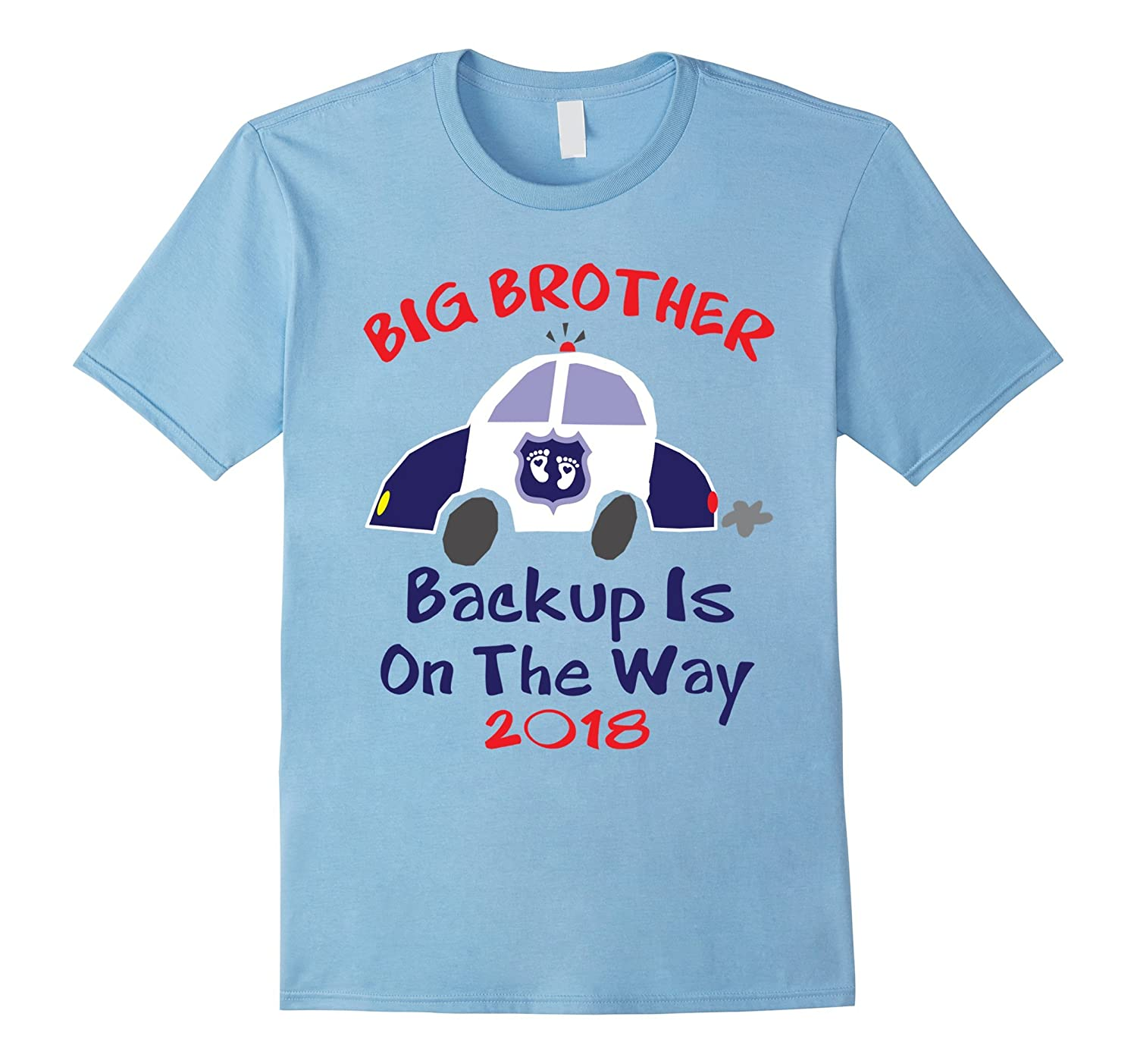 2018 Big Brother Pregnancy Announcement Shirt Police Car-ANZ