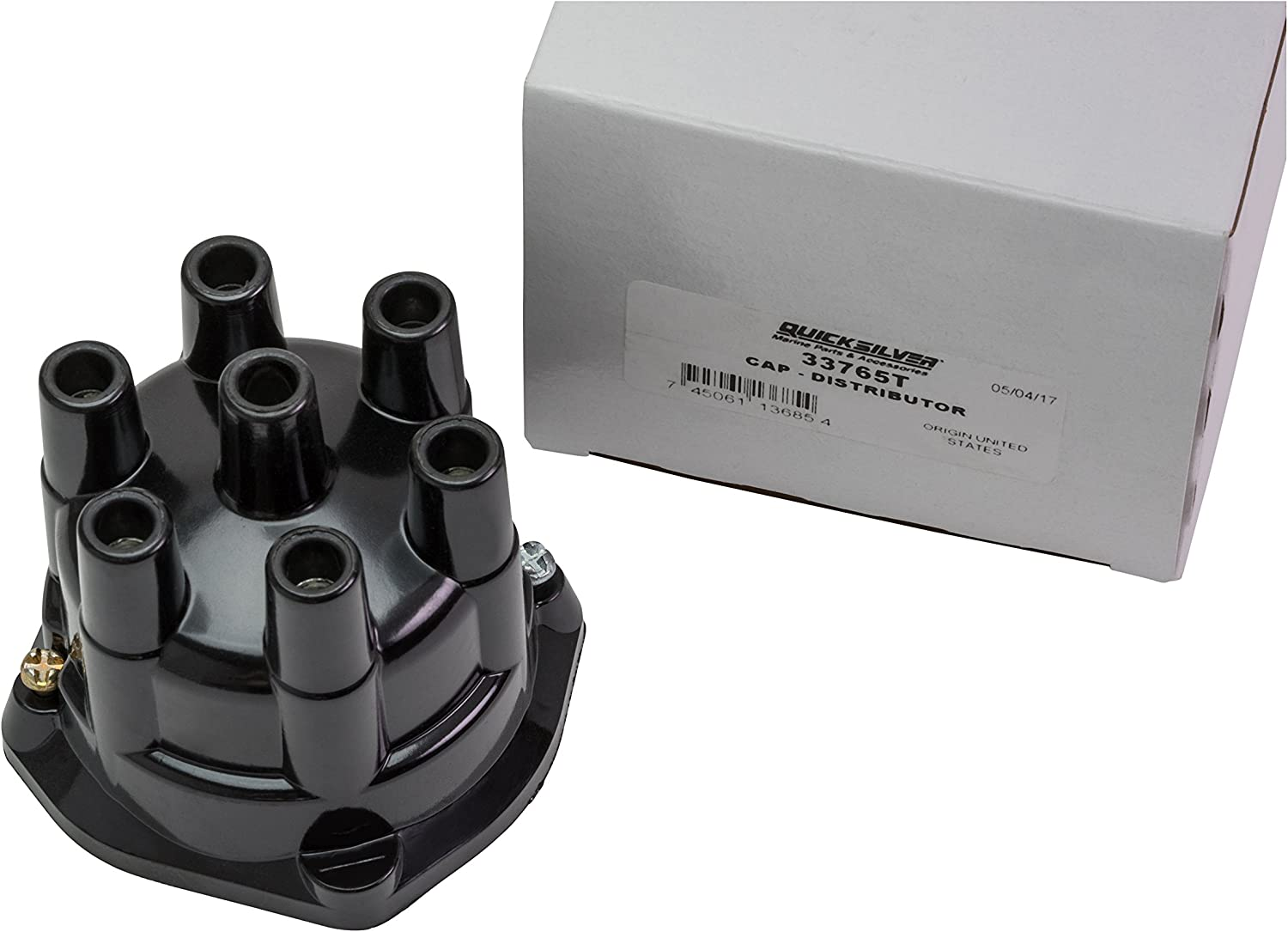 V-8 MerCruiser Engines by General Motors with Prestolite Conventional Ignition Systems Quicksilver 9766Q1 Distributor Cap