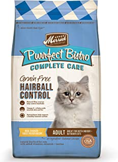 product image for Merrick Purrfect Bistro Complete Care Grain Free Hairball Control Recipe Dry Cat Food, 4 lbs.