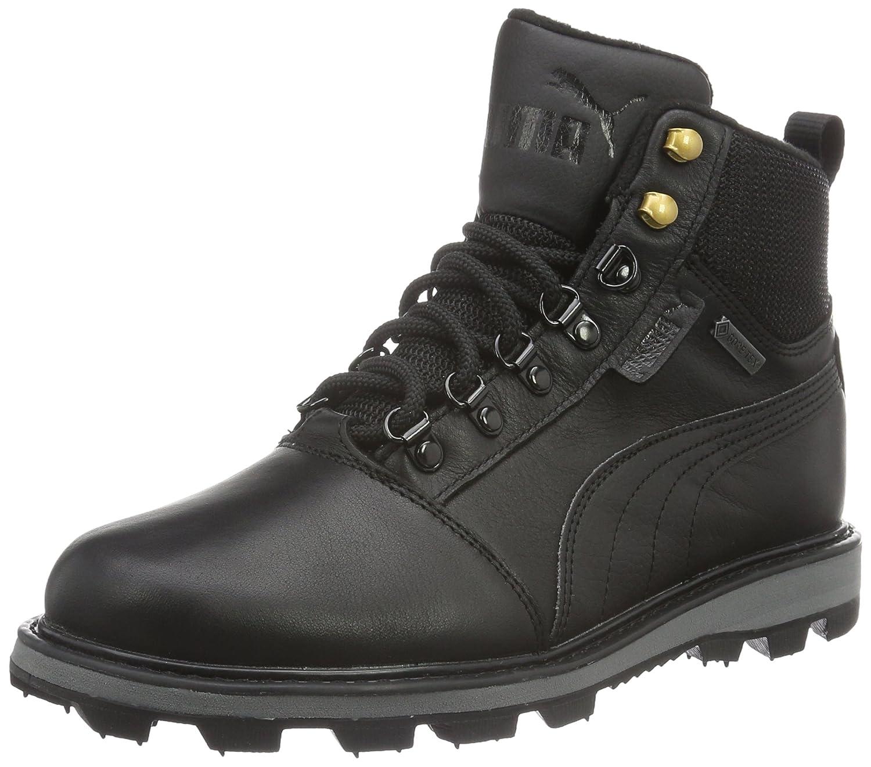 Puma Unisex-Erwachsene Tatau Fur Boot GTX Schneestiefel, Schwarz  40 EU|Schwarz (Puma Black-puma Black 02)