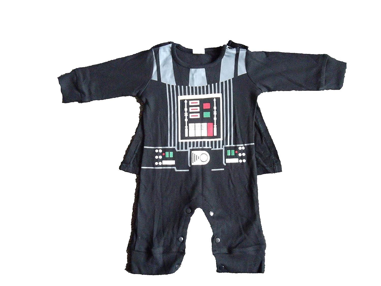 Traje infantil inspirado en Darth Vader. 0-6 meses: Amazon ...