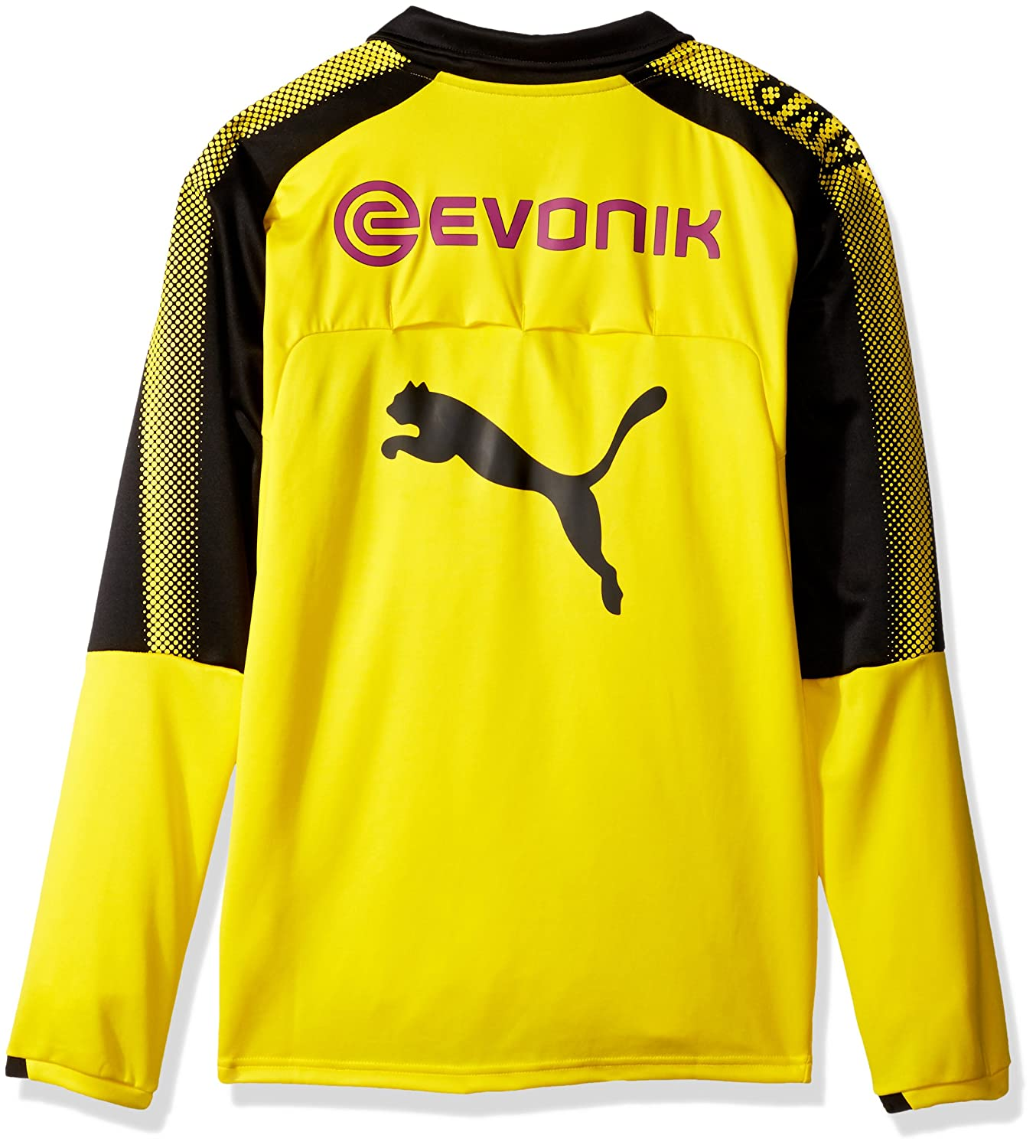 eff316d9c Amazon.com  PUMA Men s BVB 1 4 Training Top with Sponsor Logo  Clothing