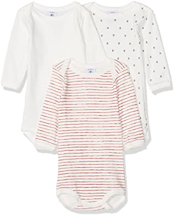 fc07c25f1 Petit Bateau, Body Bébé Garçon (lot de 3), Multicolore (00), 67 cm (Taille  fabricant: 6m/67cm): Amazon.fr: Vêtements et accessoires