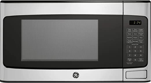 Amazon Com Ge 1 1 Cu Ft Countertop Stainless Steel Microwave Oven Jes1145shss Renewed Kitchen Dining