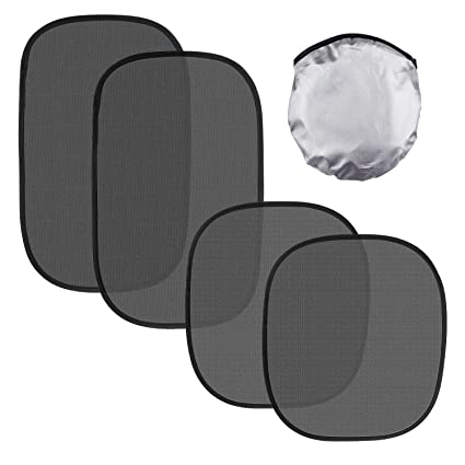 Sun For Baby Side Rear With UV Rays Protection 2 And 4 Pack Car Window Shade