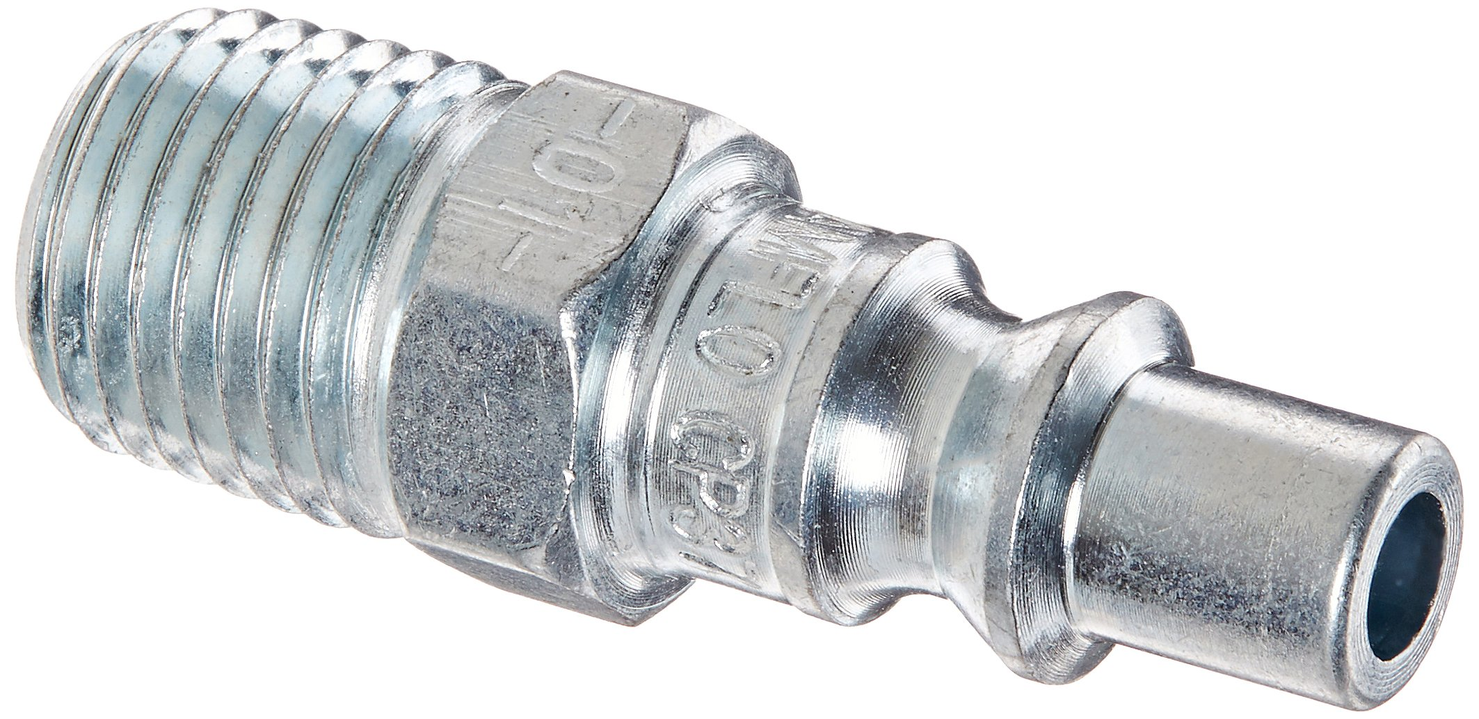 Amflo CP37-100 Plug, 1/4'' ARO, 1/4'' MNPT, Steel, 0.25'' (Pack of 100)