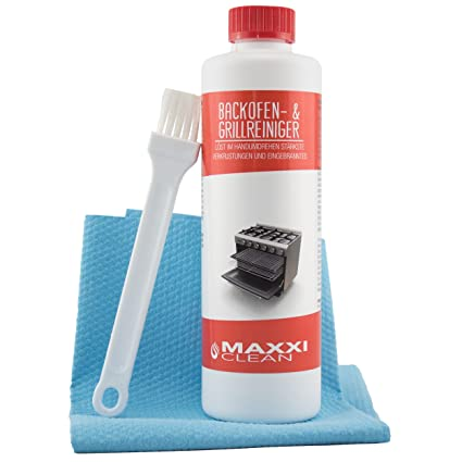 Maxxi Clean 500-ml Gel Paste Grillreiniger und Pinsel
