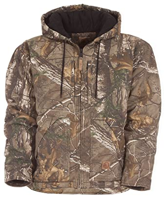 7ac5811a6a1b6 Amazon.com: Berne Men's Realtree Camo Buckhorn Coat Camouflage Small:  Clothing