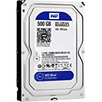 WD Blue 500GB Desktop Sabit Hard Disk - 7200 RPM Class SATA 6Gb/s 32MB Cache 3.5 Inch - WD5000AZLX