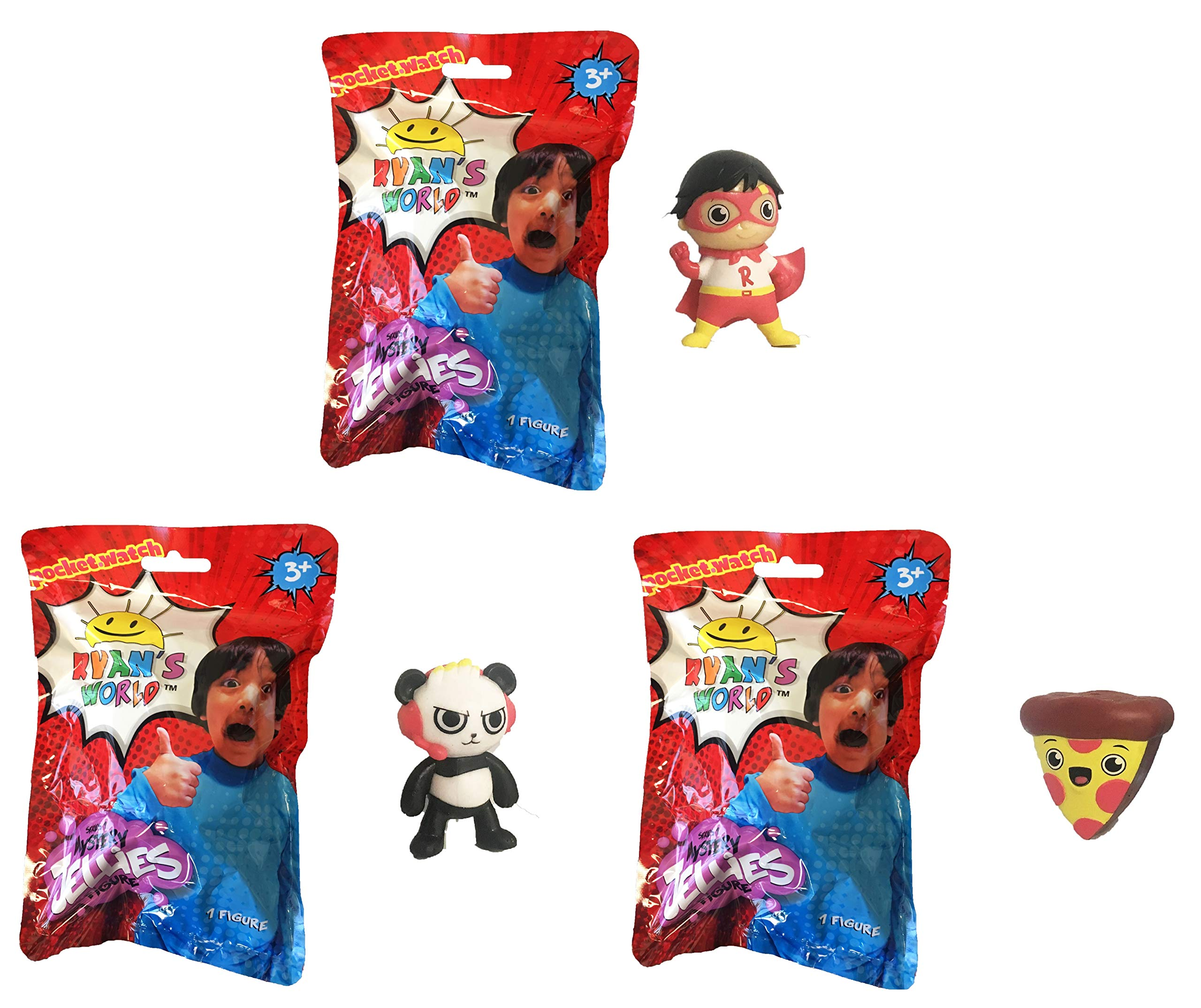 Ryan's World Surprise Jellies Squishy Toy Lot of 6 - Includes 6 Random Characters by Ryan's Toy Review by Ryan's World (Image #4)