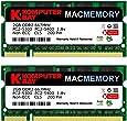 Komputerbay MACMEMORY Apple 4GB キット (2x 2GB) PC2-5300 667MHz DDR2 SODIMM iMac と Macbook メモリ