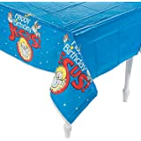 Happy Birthday Jesus Plastic Tablecloth