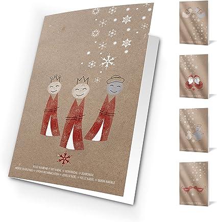 Felicitaciones Navidad Unicef - Pack de 10 tarjetas kraft: Amazon ...