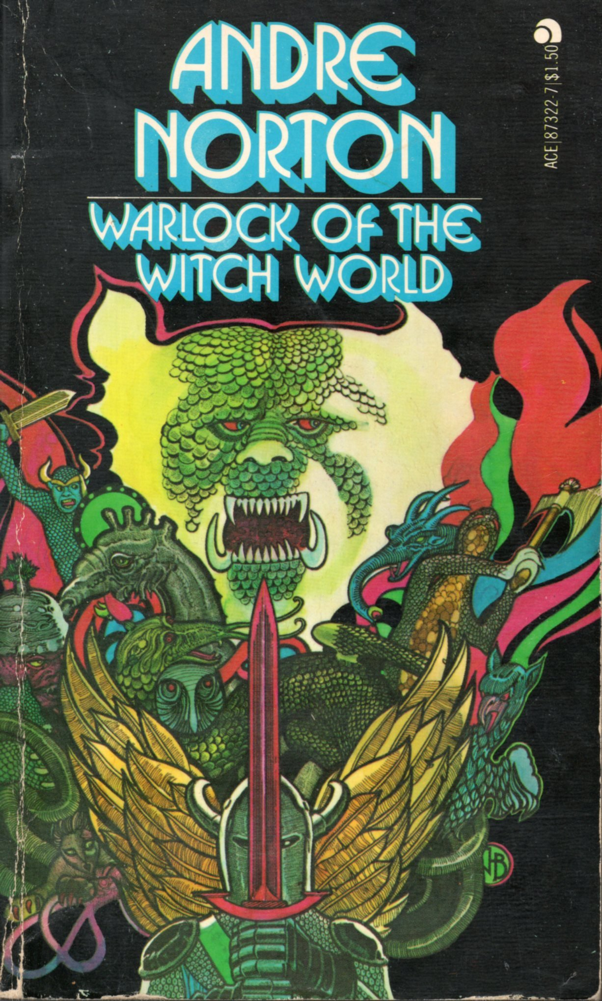 Warlock of the Witch World  (Witch World, 4), Norton, Andre