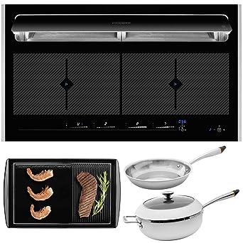 Oranier KFL 2094 be cook - Placa de inducción con marco (90 cm, incluye