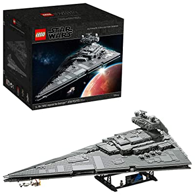 LEGO Star Wars: A New Hope Imperial Star Destroyer 75252 Building Kit, New 2020 (4,784 Pieces): Toys & Games