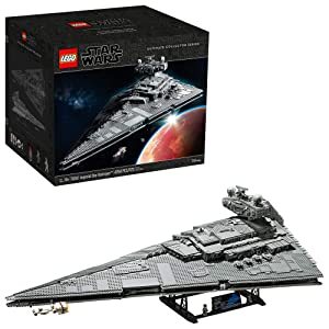 LEGO Star Wars: A New Hope Imperial Star Destroyer 75252 Building Kit, New 2020 (4,784 Pieces)