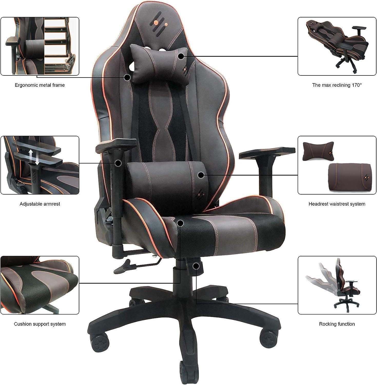 Computer Stretch Swivel Gaming Racing Stuhl Schonbezug Sesselbezug