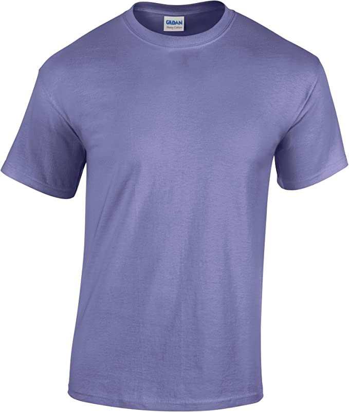 Gildan Heavy Cotton TM Youth – Camiseta Violet - Violeta L: Amazon ...