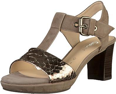 Mode Gabor Sandaletten Anthrazit Damen Online Bestellen