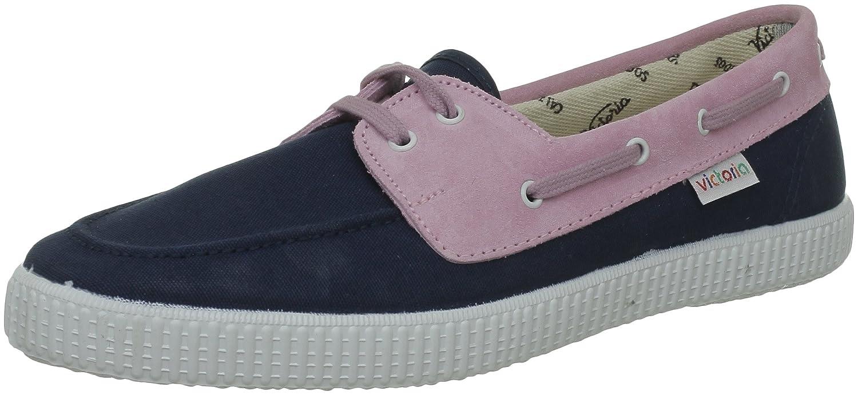 Calego Nautico Lona Serraje 106646_Bleu (Petroleo) - Zapatos de Cordones de Tela Unisex, Color Azul, Talla 44