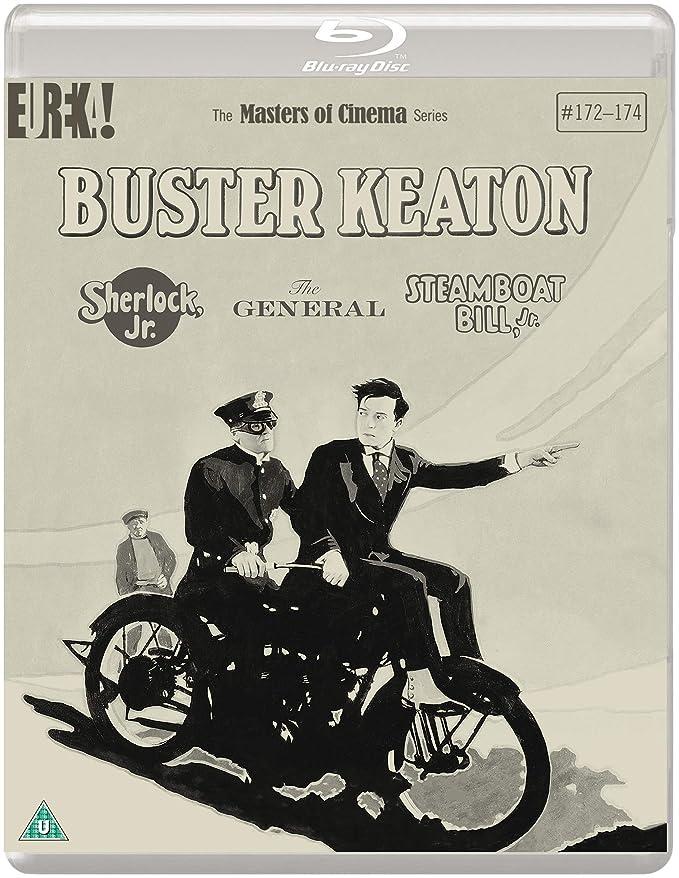 Buster Keaton: 3 Films(Sherlock Jr., The General, Steamboat Bill, Jr.) [Masters of Cinema] [Reino Unido]
